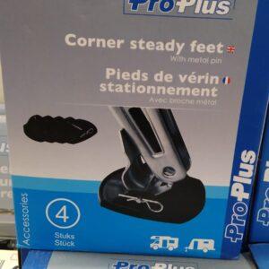 Corner Steady Feet with Metal Pin